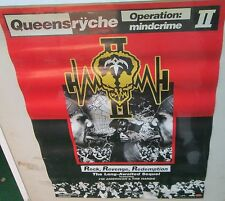 QUEENSRYCHE 2006 PROMO POSTER OPERATION MINDCRIME II 2 18 X 24