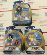 "Jakks Pacific Articulated Sonic Figure Lot 4"" Inch Shadow Tails Sonic Accessory"
