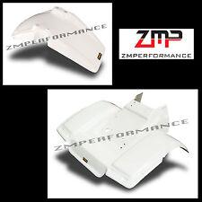 NEW HONDA ATC250SX 85 - 87 WHITE PLASTIC FRONT AND REAR FENDER SET ATC 250SX