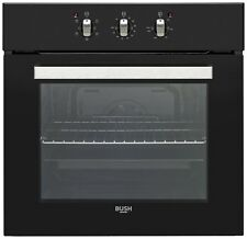 Bush BIBFOB Built In Single Electric Oven - Black