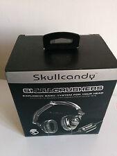 Skullcandy Skullcrushers Pinstripe Headband Headphones - Black