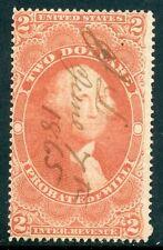$2 PROBATE 1865 PEN CANCEL R83c