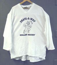 ROLLER HOCKEY JERSEYS - BAKKA -TEAM SET OF 13 - WHITE - YOUTH LARGE  FREE SHIP