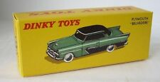 Repro Box Dinky Nr.24D Plymouth Belvedere