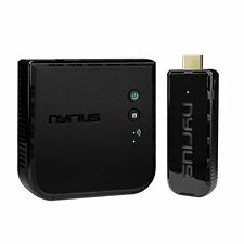 Nyrius ARIES Pro Wireless HDMI Transmitter and Receiver To Stream HD 1080p 3D