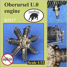 Taurus modelos 1:32 motor rotativo Oberursel U.0 alemán D3217 Tuerca de mariposa alas