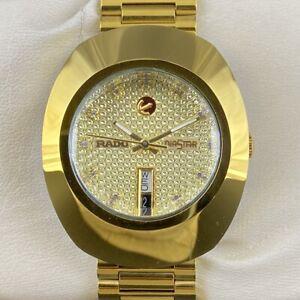 Rado Diastar Day Date Sealed Automatic Men's Excellent Wrist Watch GM343