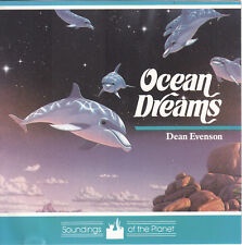 Ocean Dreams by Dean Evenson (CD, 1989) Peaceful Waves of Melody/Whales/Dolphins