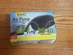 Tetra 20-40 Gallon Silent Oxygen Air Pump for Aquarium Fish Tank