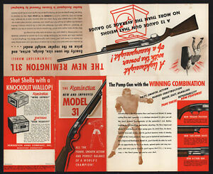 Remington Model 31 Shotgun Brochure