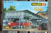 Faller 131279 H0 Bahnsteigbrücke Brücke Bausatz gebraucht, geöffnet in OVP