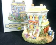 The Bunny Family Village 14 Fourteen Carrot Inn Eh03 Easter Collectible Resin