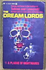 Adrian Cole / THE DREAMLORDS #1 A PLAGUE OF NIGHTMARES First Edition 1975