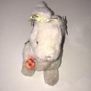 "Gund Poppyhops Bunny Rabbit 10"" Plush With Original Tags Brand New Vintage 1989"