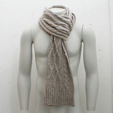 NEW Closed Concrete Beige Knitted Scarf GENUINE RRP: £100 BNWT