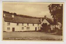 Devon postcard - Lorna Doones' Farm, Malmsmead