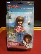 "Bob Ross & Peapod 6"" toony classics action figure NECA Art of Painting nib"
