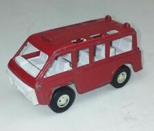 TootsieToys Red Bus Metal Vintage Toy Diecast Collectible Fire Emergency Van