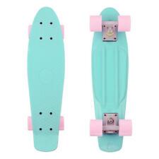 Plastic Retro Complete Skateboard Deck Mini Skate Board 22'' Cruiser Penny Style