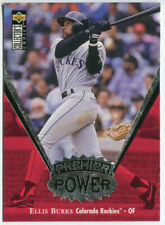 1997 Upper Deck Collector's Choice Premier Power #PP16 Ellis Burks Rockies