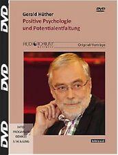 Positive Psychologie und Potentialentfaltung, DVD, Gerald Hüther , NEU/OVP