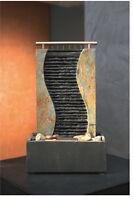 Schieferbrunnen Zimmerbrunnen Shui Wasserspiel Luftbefeuchter Brunnen Wasserwand