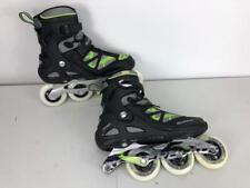 Rollerblade Men's Spark 80ALU Skate Black Green Size 8