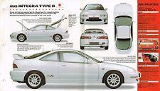 1997/1998 ACURA INTEGRA Type R SPEC SHEET/Brochure