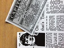 G1m ephemera x 2 reprint articles tommy quickly 1960s pop
