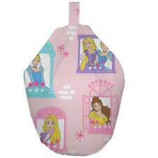 DISNEY PRINCESS BOULEVARD BEAN BAG FILLED COTTON COVER KIDS GIRLS BEDROOM