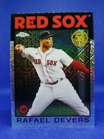 2021 Topps Silver Pack 1986 Chrome Baseball Rafael Devers #86BC-59