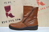 Herren Stiefel Boots TRUE VINTAGE bottes DDR Winterstiefel stivali Leder braun