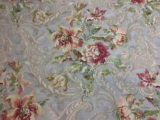 """Waverly Fresco Flourish Jewel Home Decor Drapery Fabric BTY x 54"""""""