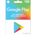 Google Play 100 USD Gift Card Fast USPS Delivery