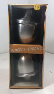 Vintage Firefly Aluminum Tiki Style Garden Torches