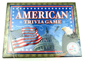 American Trivia Game Exclusively Made for Books Are Fun Factory Sealed 2004