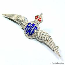 1920s RAF SILVER Sweetheart Brooch Badge - THOMAS LYNTON MOTT - Air Force #A012