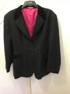 Black Fuller Fillies Show Jacket Size 22