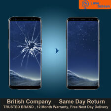 Samsung S8 Plus S8+ LCD AMOLED Screen Glass Replacement Service Same day Repair