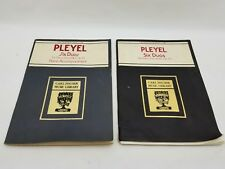 Carl Fischer Pleyel Six Duos for 1 or 2 Violins & Piano Accompaniment L156 L156A