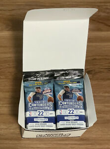 2020-2021 NBA Panini Contenders Basketball Cello Pack - Lot of 12! New, Sealed