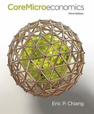 CoreMicroeconomics by Eric Chiang (2013, Paperback)