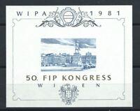 """Autriche - Bloc d'exposition pour l'exposition de timbres """"WIPA 1981"""""""