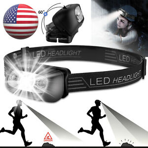 USB Rechargeable LED Head Lamp Headlamp Headlight Flashlight Torch Waterproof