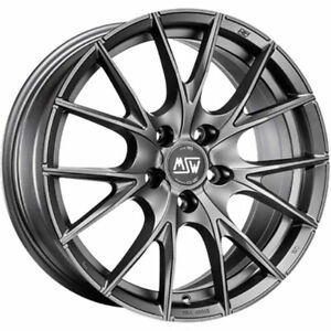 ALLOY WHEEL MSW 25 BMW Serie 5 GRAN TURISMO GT Staggered 9x18 5x120 ET 39 MA 42b