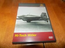 HI-TECH HITLER NAZI TECHNOLOGY Germany WWII Weapons WW2 History Channel DVD NEW