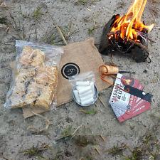 31pc UST Heritage Campfire Starter Kit Kindling Logs Tinder Instant Fire Camping