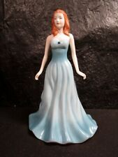 """Royal Doulton """" December """" Turquoise Figurine - Gemstones Collection"""