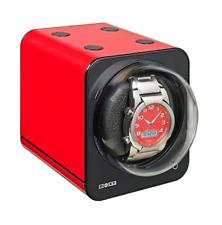 Boxy Red Brick Watch Winder Fancy Boxy Single F-BWS-F-4 Brand New Warranty