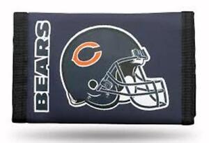 Chicago Bears  Football Licensed NFL Sports  Wallet Nylon Stocking Stuffer LAST